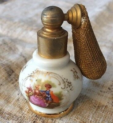 Limoges France Antique Perfume Bottle Atomizer