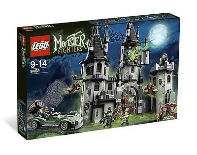 Brand New LEGO Monster Fighters 9468 -The Vampyre Castle  FREE POSTAGE Vampire