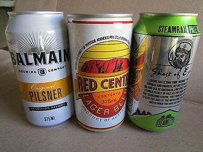 3 X Mixed Collectable Beer Cans.