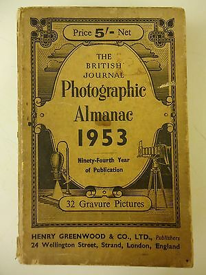 The British Journal Photographic Almanac 1953