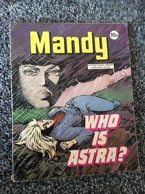MANDY PICTURE STORY LIBRARY BOOK - from the 1980's  - NUMBER 62 - COLLECTIBLE