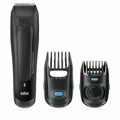 Braun BT5050 Beard Trimmer for Men Cordless and Rechargeable Electric Hair...