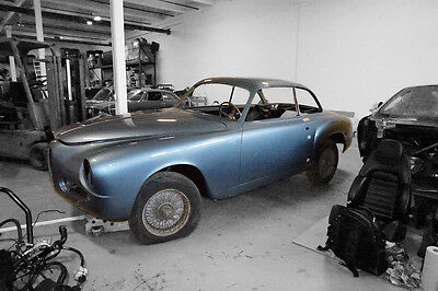 1955 Alfa Romeo Other blue 1955 Alfa Romeo 1900 CSS Touring bodied, five window coupe. Very good project.