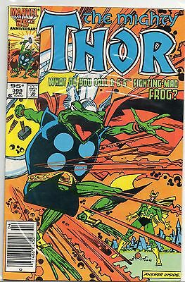 The Mighty Thor #366 1986 Marvel Comics Canadian Variant 95 Cents - Mint Unread