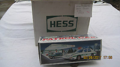 1993 Hess Patrol Car Full Case Of 6 Mint In Box Just Opened Never Out On Display