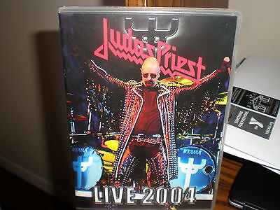 JUDAS PRIEST LIVE 2004 DVD screaming for vengeance british steel stained class