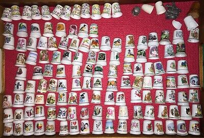 Thimble collection / Fingerhut sammlung