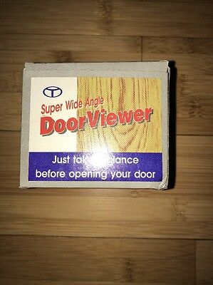 New Super Wide Angle Door Viewer Peephole Fast Free Ship!
