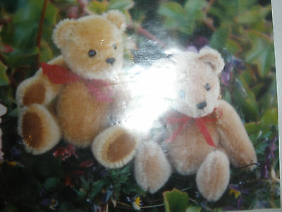 """Ben"" Mini Mohair Bear Pattern and One Free Bear Pattern"