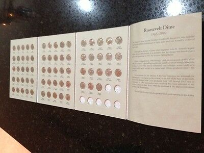 Roosevelt Dimes 1965-1999 Circulated Set