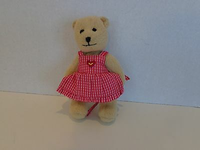 American Girl Doll Bitty Baby Jointed Teddy Bear 5.5""