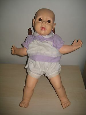 """Hasbro Real Baby Doll J Turner 1984 1985 Perfect For Reborn Baby 20"""" Org.Outfit"""
