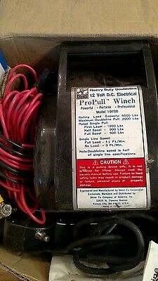 Pro Pull Winch 12v Electrical I-9700