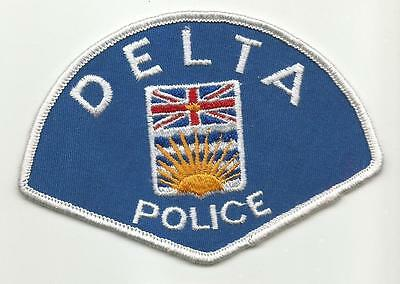Delta CANADA OLD Police patch