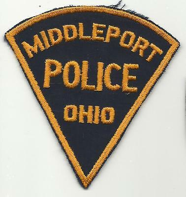 Middleport OHIO OH Police patch OLD