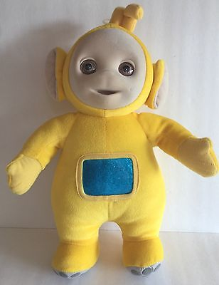"Eden Teletubbies Yellow Plush Lala 13"" 1998"