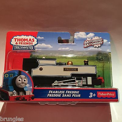 Fearless Freddie Trackmaster Engine Train Fisher Price Thomas Tank Engine Track