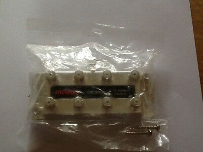 Antronix CMC 3008H 8-way Cable Coax Splitter -120dB RFI, 5-1000MHz RMS cable,Sat