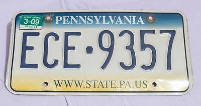 Pennsylvania License Plate www.state.pa.us Tag Collectible & Expired jds