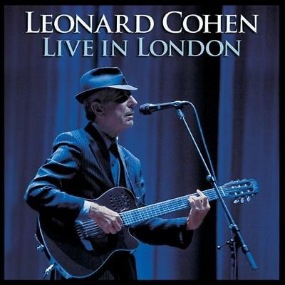 LEONARD COHEN ~ LIVE IN LONDON ~ 3 x 180gsm AUDIOPHILE VINYL LP ~ NEW AND SEALED