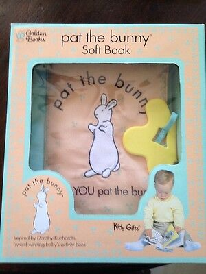 Brand New In Box Pat The Bunny Soft Book Golden Books Discontinued Htf