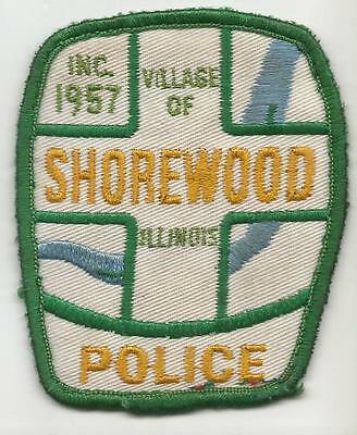 Shorewood  ILLINOIS IL Police OLD patch