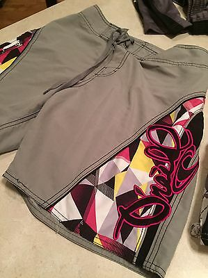 Boys Lot Of 2 Swim Trunks-1 Pair ONeill Size Large