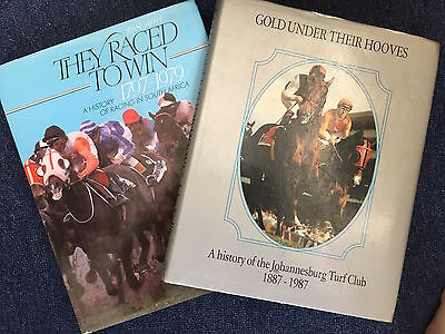 5 x Books of South African Racing