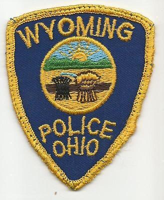 Wyoming OHIO OH Police patch