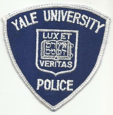 Yale University CONNECTICUT CT Police patch OLD college school