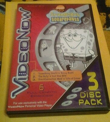 Video Now- Sponge Bob Squarepants -3 Disc-Set
