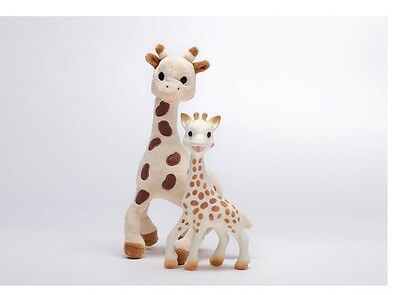 Sophie the Giraffe Set ~ Plush Toy & Natural Rubber Teether ~ New