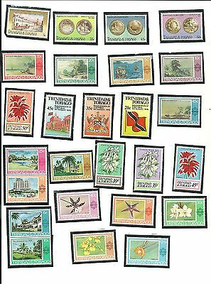 Trinidad and Tobago - Lot of 49 Stamps Years From 1976 Thru 1979