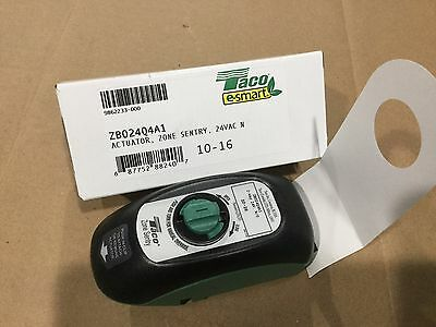 New Taco Zb024Q4A1 Replacement Actuator Head For Zone Sentry Valves N/o