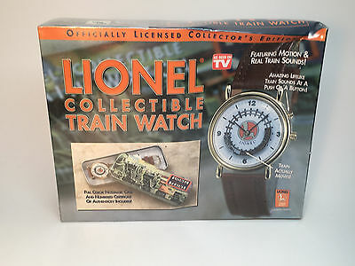 Lionel Legendary Collectible Train Watch MIB