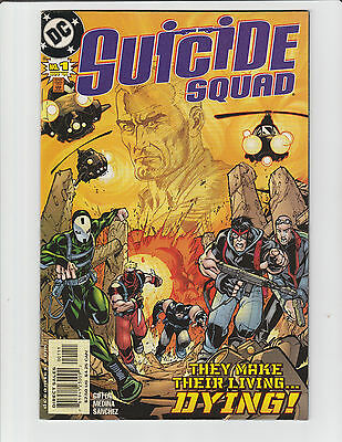 SUICIDE SQUAD (v2) #1-12 NM Unread 2001 DC Comics First appearance ANTIPHON #11