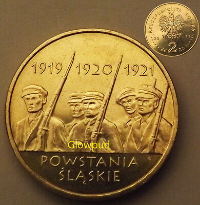 Coin Poland Anniversary Of Silesian Uprising ** Unc