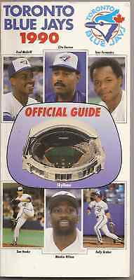 1990 Toronto Blue Jays Official Guide
