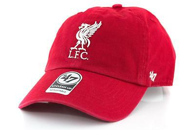 Liverpool FC Supporters Hat - Clean Up Cap From 47 Brand Baseball Cap