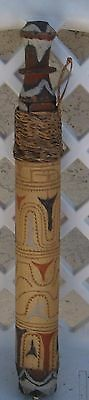 Vintage Papua New Guinea Sepik River Wooden Medicine Holder