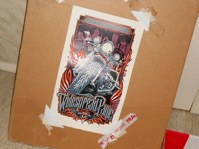 Widespread Panic Riverside Theater Milwaukee 10-25-14 Poster Masthay AE 82/250