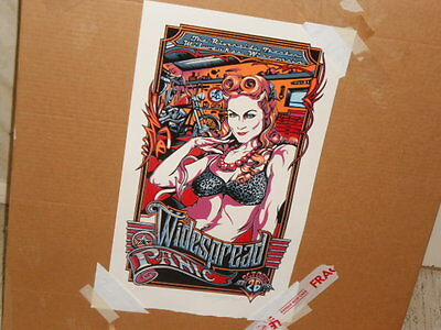 Widespread Panic Riverside Theater Milwaukee 10-26-14 Poster Masthay AE 59/250