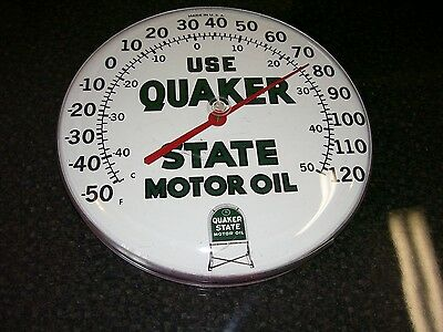 Quaker State Thermometer  Gas & Oil