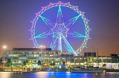 Melbourne Star Eye Voucher -  Buy One Admission, Get One Free  FREE POST