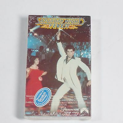 Saturday Night Fever Beta Hi-Fi Tape New Sealed Betamax