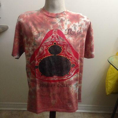 Vintage Rush Test For Echo Tour Shirt 96-97 Sz Large
