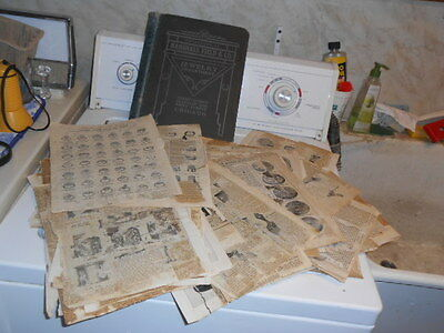 Vtg 1903 Marshall Field & Co. Chicago Jewelry Catalog 17 AD Sheets / Book
