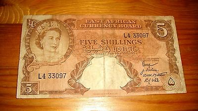EAST AFRICAN CURRENCY BOARD 1958/1960 ***3097 Very rare  /