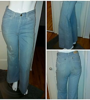 Awesome Vintage Brittania High Waist Bell Bottom Jeans