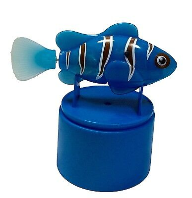 Robo Fish Water Activated Blue Clown Fish by Robo Fish